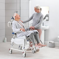 Aquatec Ergo Shower and Commode Chairs