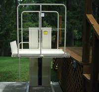 Vertical Home Lift PL-50